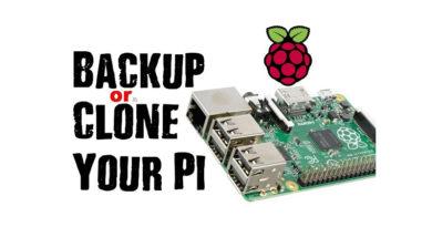 Raspberry Pi backup